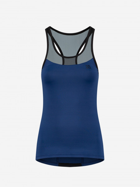 Sports top with mesh