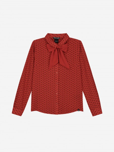 SHIRT WITH ALL OVER N PRINT