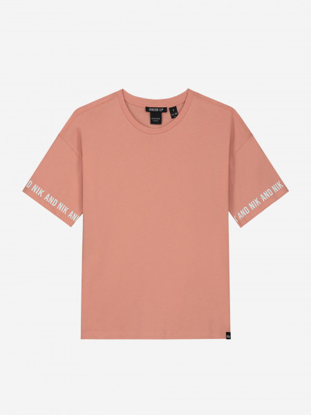 T-SHIRT WITH LOGO SLEEVES