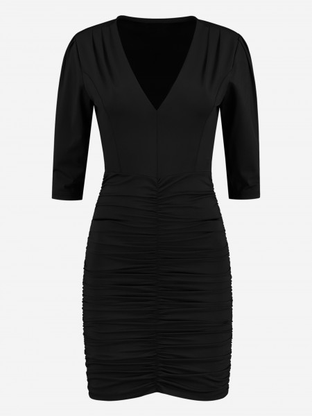 Black fitted suzy dress