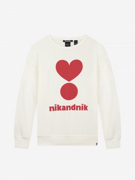 Soft Sweater with NIKANDNIK artwork