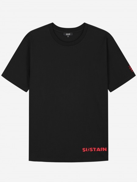 Boxy T-shirt with logo artwork