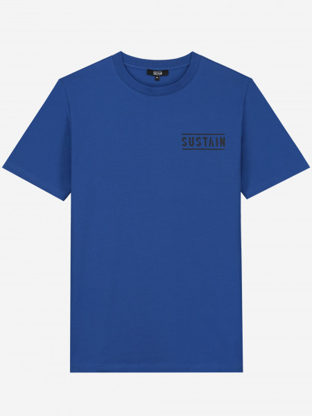 T-SHIRT WITH SUSTAIN LOGOS