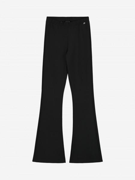 Black flared legging