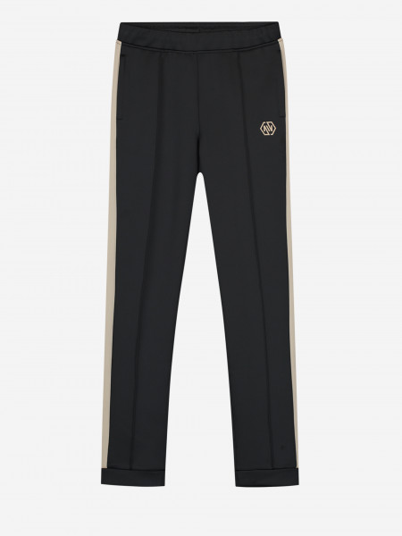 Trackpants with beige trim