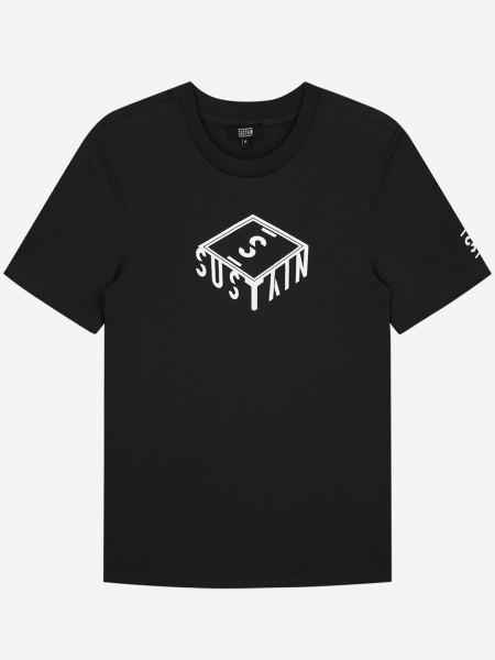 T-Shirt With 3D Box Logo