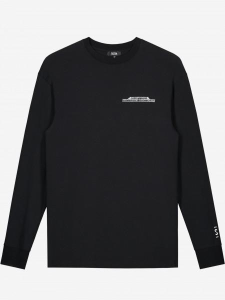 Long sleeve with future vintage artwork