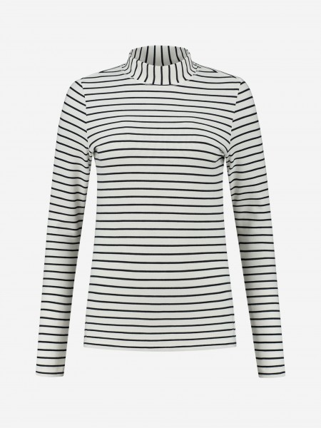 STRIPED FITTED TOP