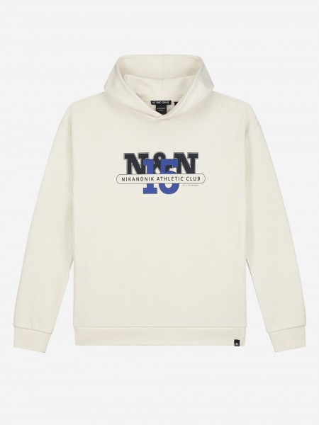 Hoodie with sporty artwork