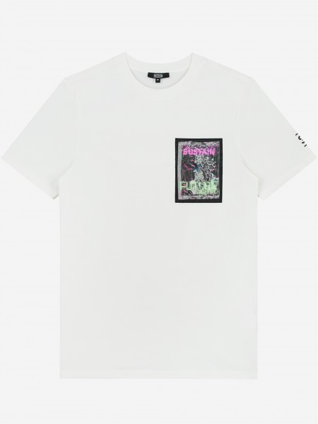 Off white t-shirt with artwork