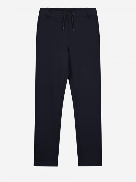 Plain pants with cord