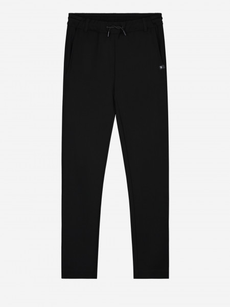 Plain trousers with cord