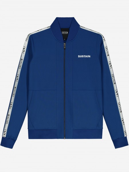 TRACK JACKET WITH SIDE STRIPES