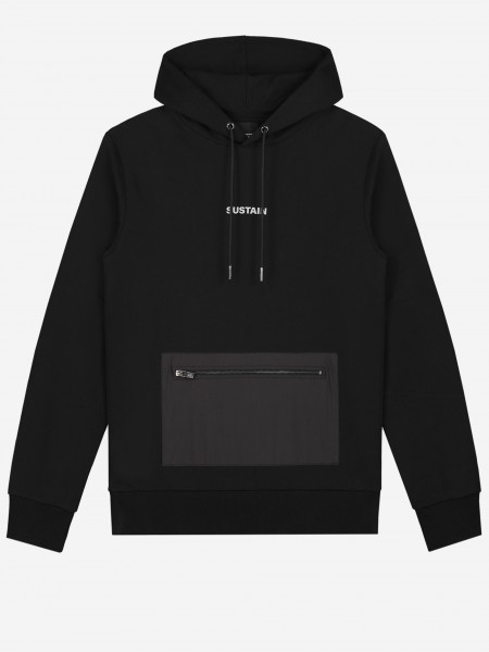 Hoodie with reflective logo