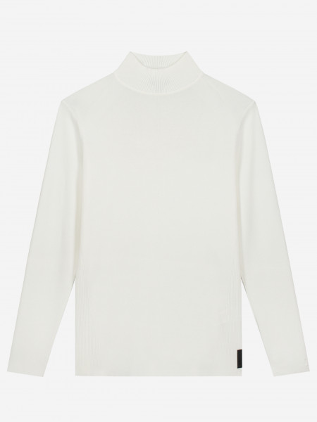 Long sleeves high neck knit