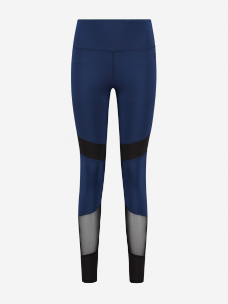 Two-toned legging with mesh