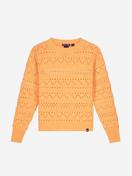 KNITTED SWEATER WITH FIGURES