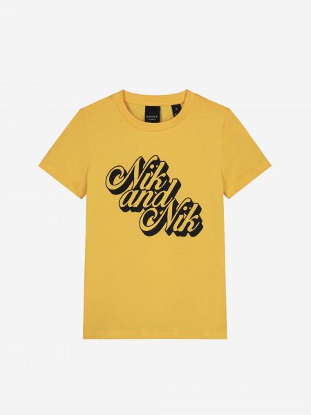 t-shirt with logo artwork
