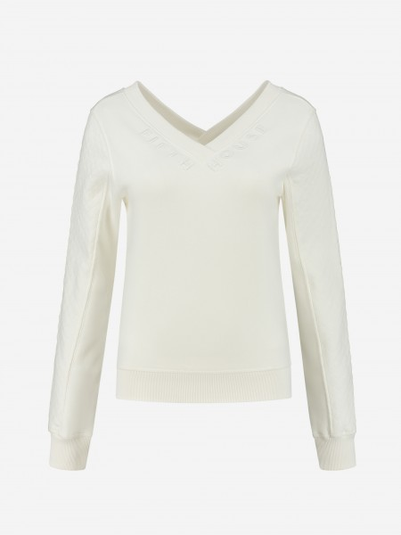 SWEATER WITH V NECK