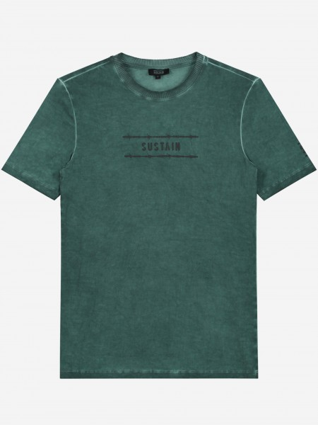 Green washed t-shirt