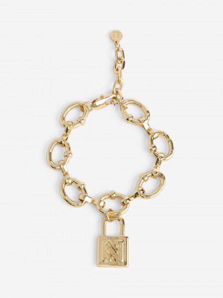 Bracelet with padlock