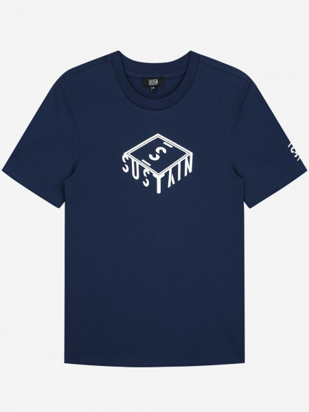 T-Shirt With 3D Box Logo