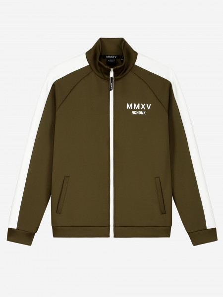 TRACK JACKET WITH STRIPE AND ARTWORK