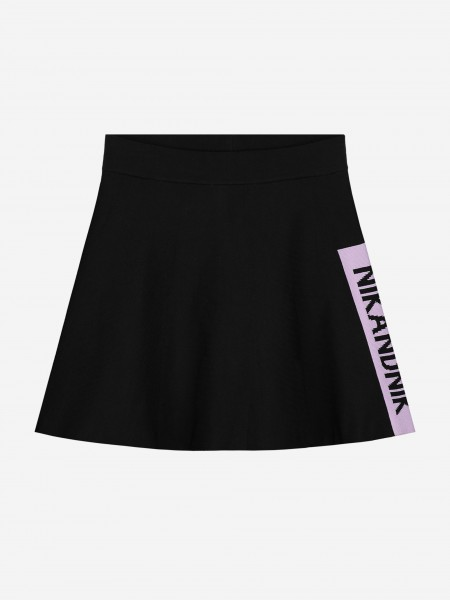 SKIRT WITH NIKANDNIK LOGO