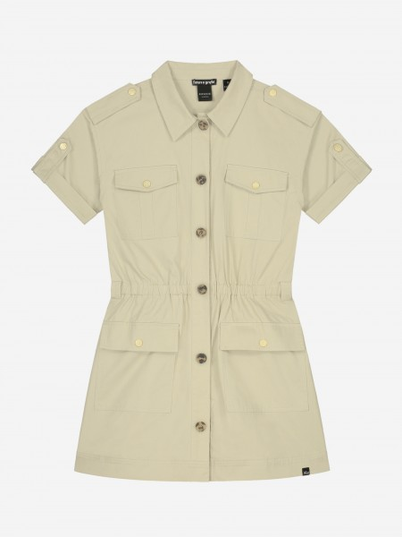 DRESS WITH BUTTONS AND POCKETS