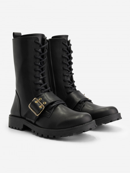 BOOTS WITH BUCKLE