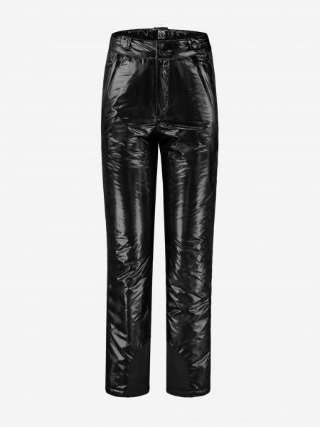 Black ski pants with NIKKIE logo