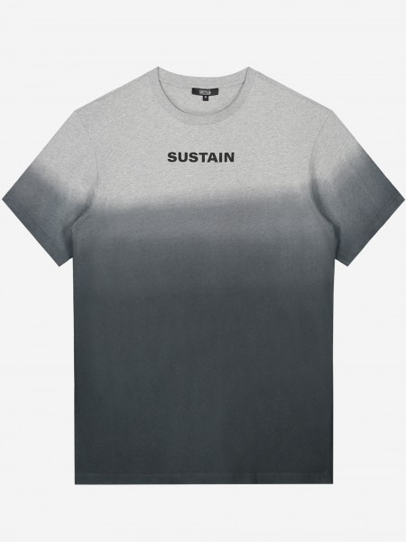 SUSTAIN logo t-shirt with overflow