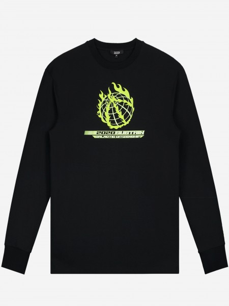 Longsleeve with artwork and small logo