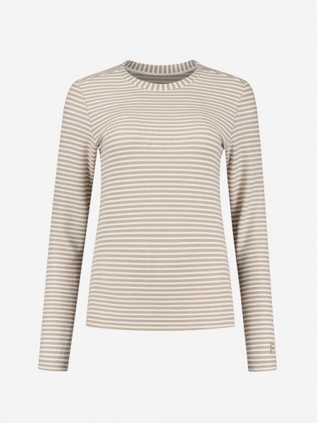 Tight top with breton stripe