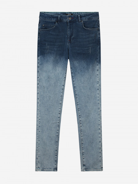JEANS WITH DIP DYE WASH