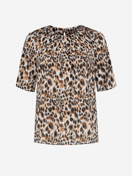 TOP WITH PANTHER PRINT