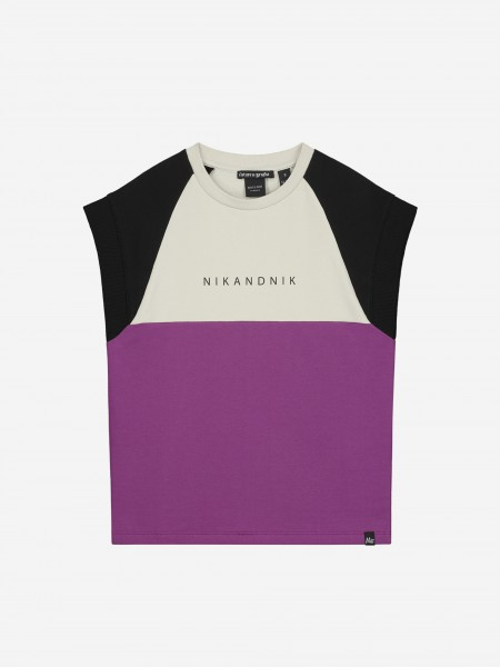 SWEATER WITH LOGO AND SHORT SLEEVES