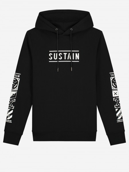 HOODIE WITH LOGO AND ARTWORK