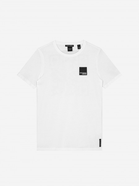 Off White t-shirt with QR code