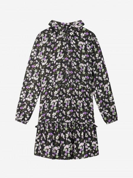 Dress with flower print