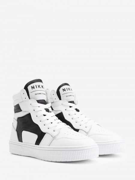 High Sneakers with NIKKIE logo