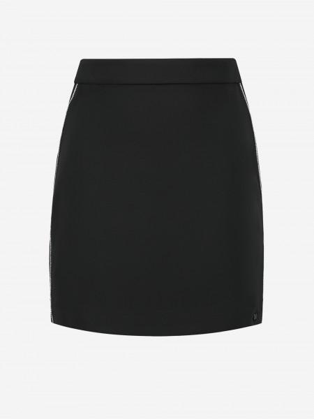 Skirt with rhinestones