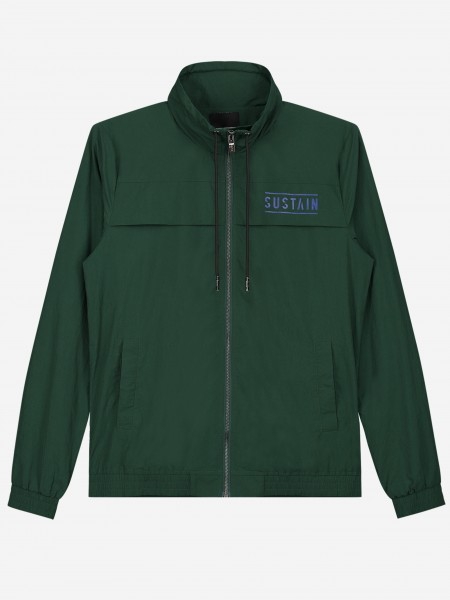 Track Jacket with high neck and logo