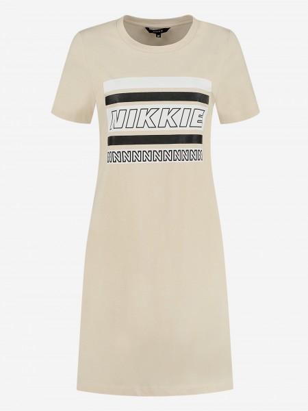 TEE DRESS WITH NIKKIE ARTWORK