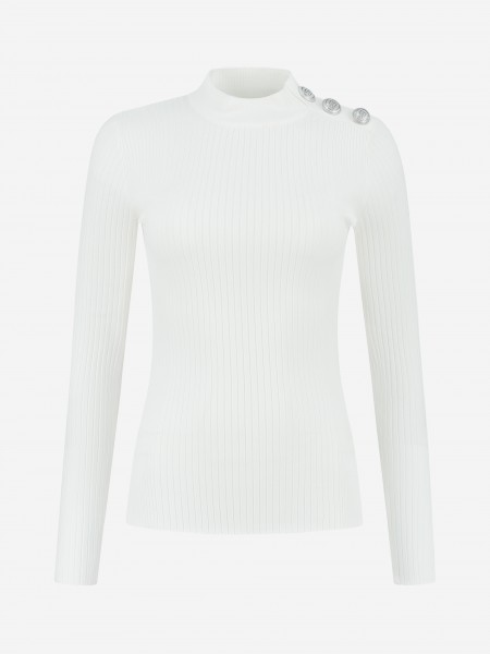 Tight top with N logo buttons