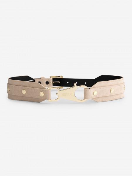 Belt with golden details