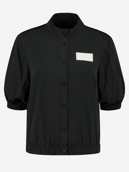 BLOUSE WITH NIKKIE LOGO PATCH
