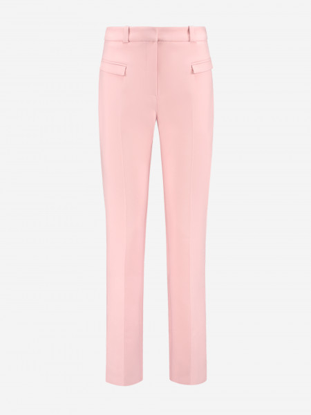 Trousers with flap pockets