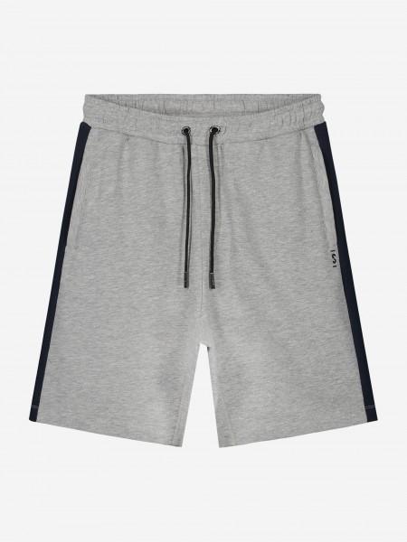 Grey shorts with black trim