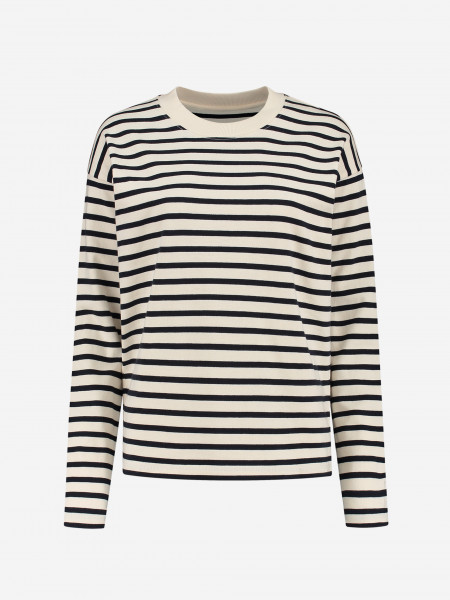 Classic top with stripes